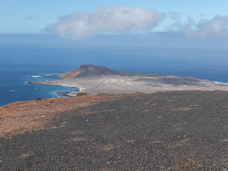 Blick Richtung Isla Graciosa