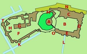 Windsor Castle - ein Plan