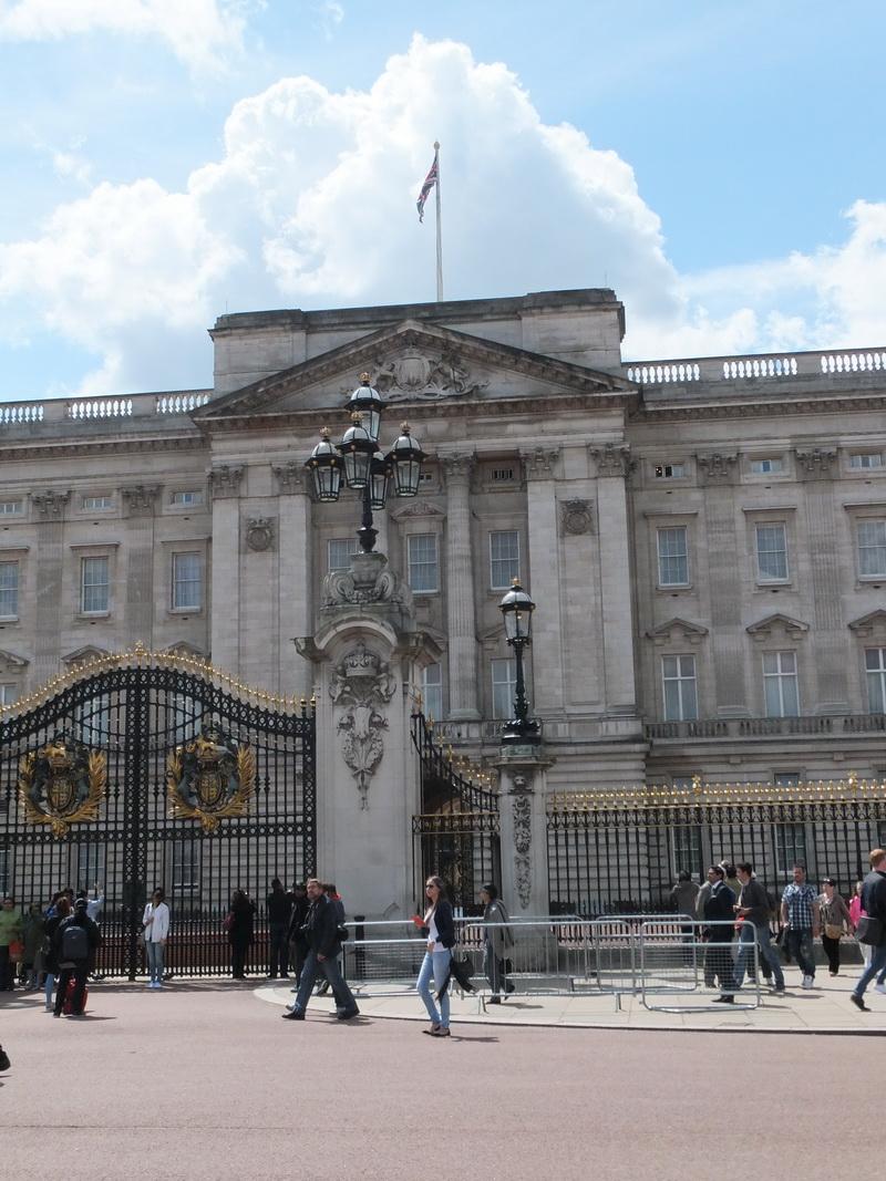 Buckingham Palast – leider ohne die Queen
