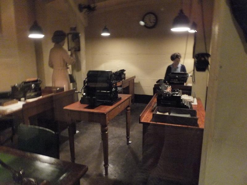 Besichtigung von Churchill's War Room