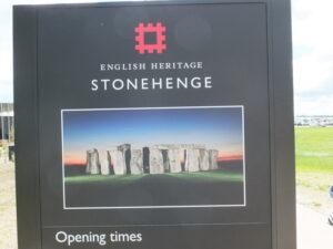 Informationsmaterial Stonehenge