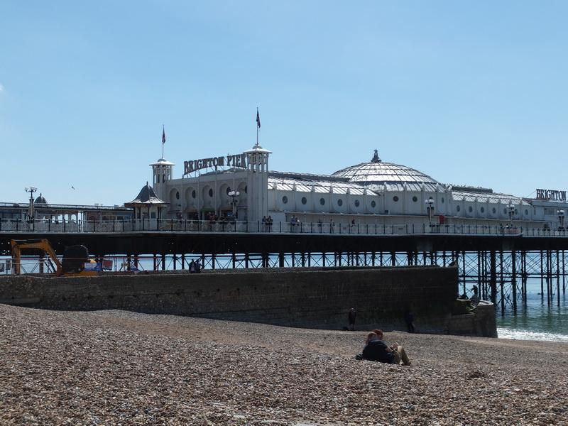 Wir fahren nach Brighton