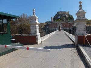 Eingang alte Festung Kerkira