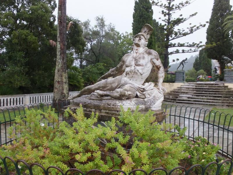 Achilleion sterbende Achill