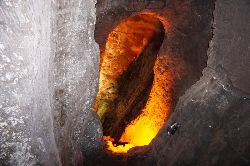 Impressionen Lavahöhlen auf Lanzarote