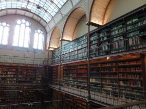 Bibliothek im Museum