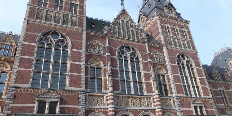 Eingang Rijks Museum