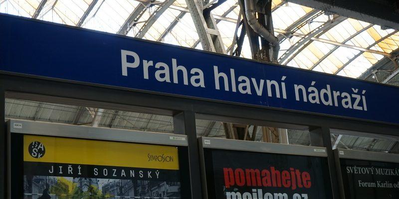 Hauptbahnhof in Prag