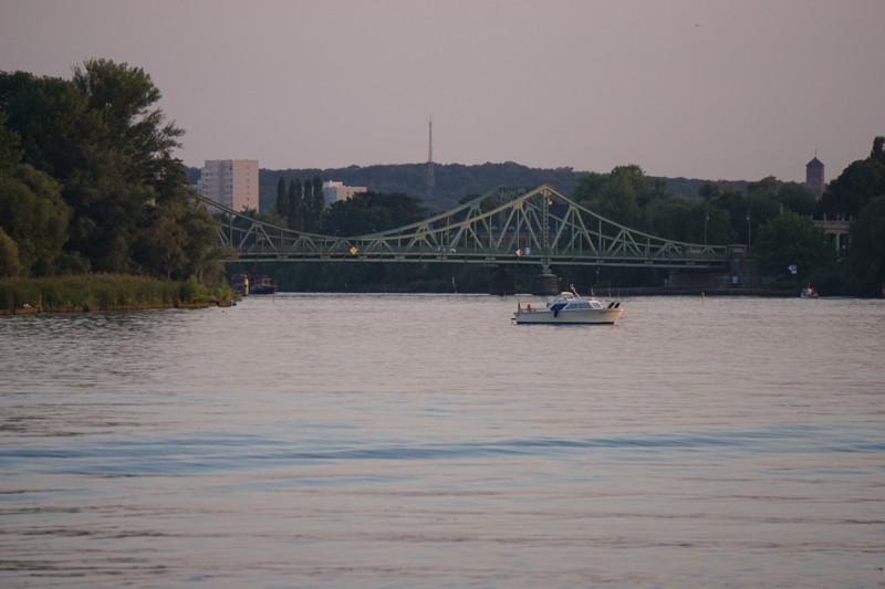 Dampferfahrt Glienicker Brücke