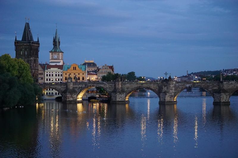 Prag gegen 20 Uhr
