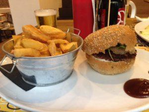 Burger aus dem Mystic Burger in Como