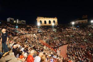 Aida in der Arena di Verona