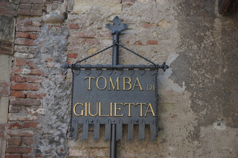 Julias Grab in Verona