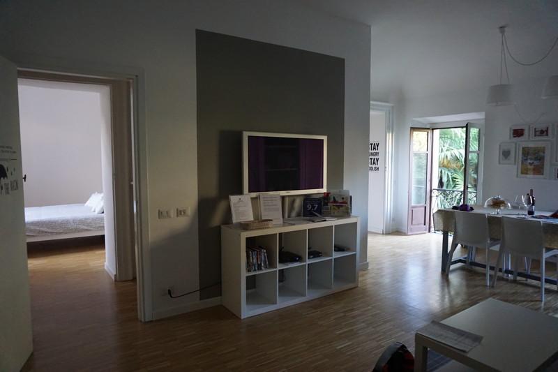 Wohnzimmer Wohnung in Como