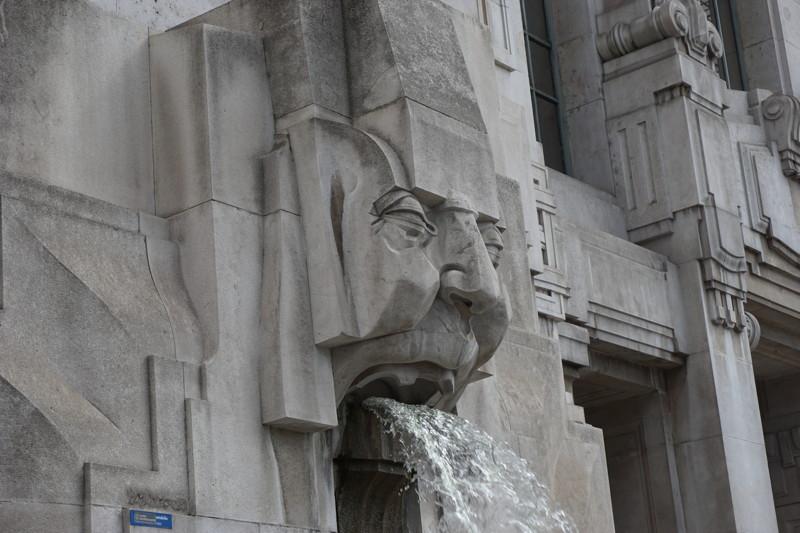 Außenfassade Mailand Centrale