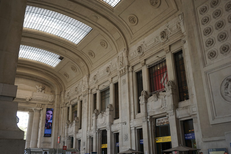 Bahnhofshalle Mailand Centrale