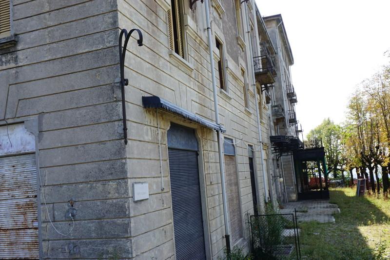verlassene Haus in Brunate