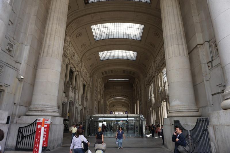 Vorhalle Mailand Centrale