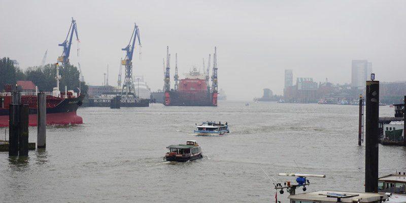 Hamburger Hafen Titelbild