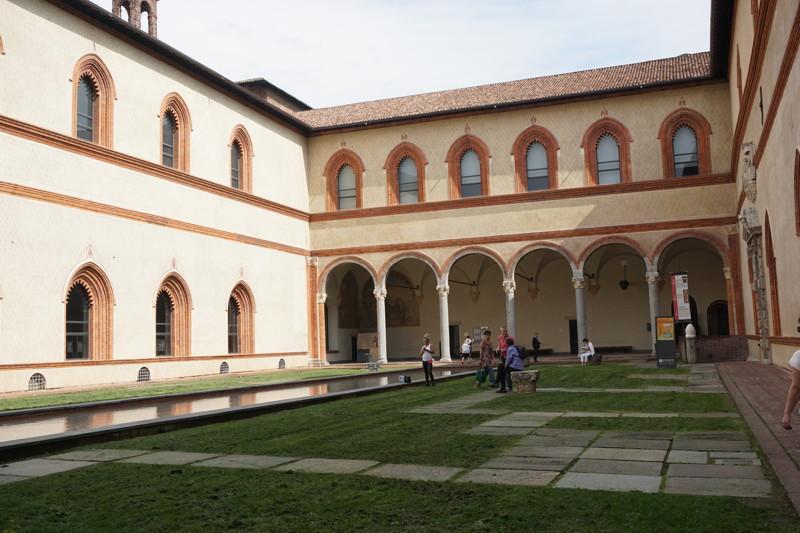 Innenhof Castello