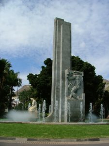 Monumento a Garcia Sanabria Santa Cruz de Tenerife