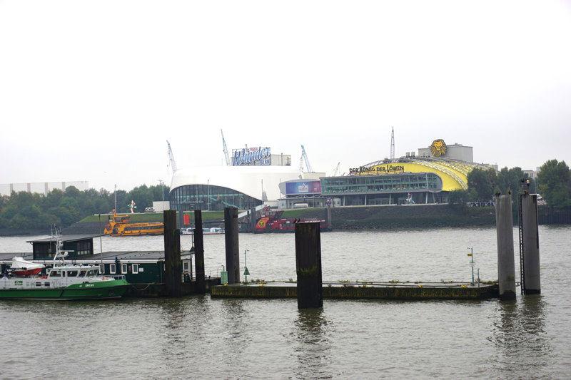 Musicaltheater im Hamburger Hafen