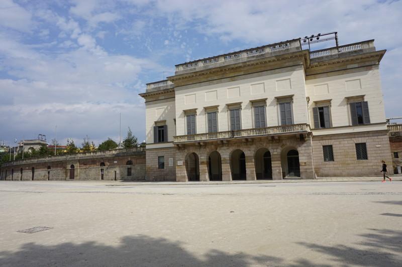 Parco Sempione altes Fußballstadion