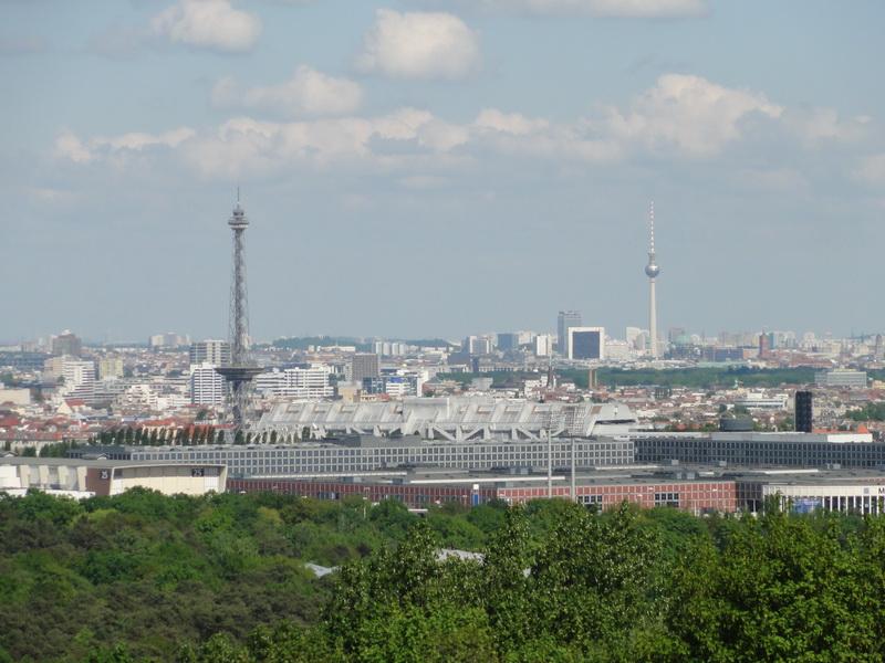 Blick von der Radar- und Abhörstation Teufelsberg