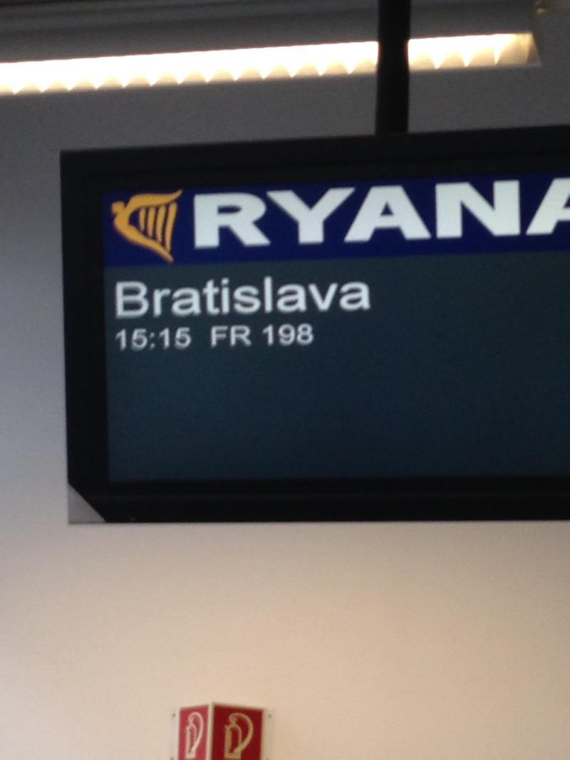 Für 9,90€ von Berlin nach Bratislava mit Ryanair