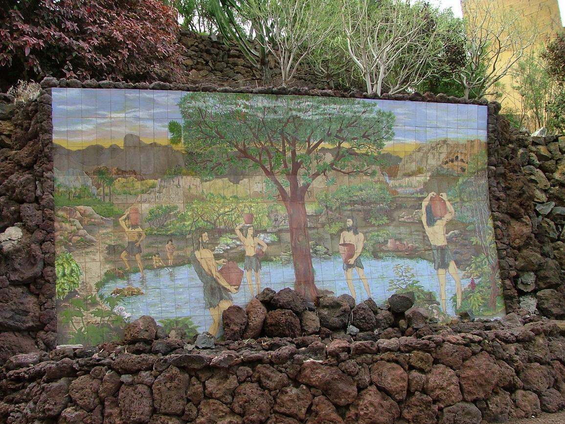 Wassergarten Teneriffa