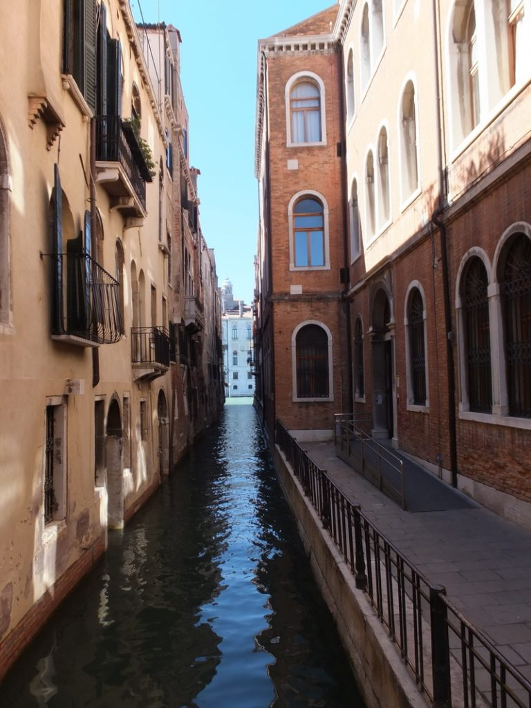 Wasserstraßen von Venedig
