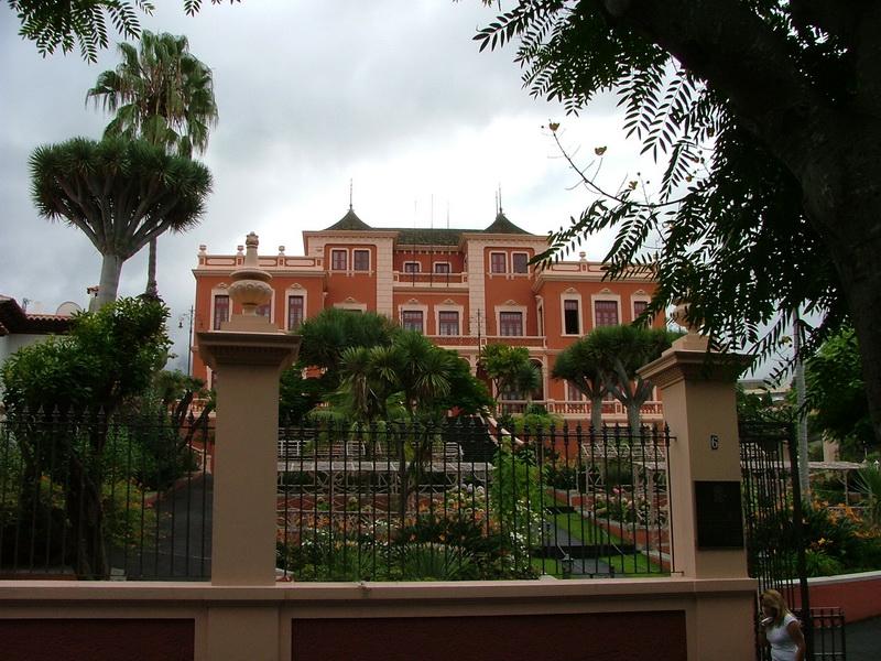 La Orotava - Palast