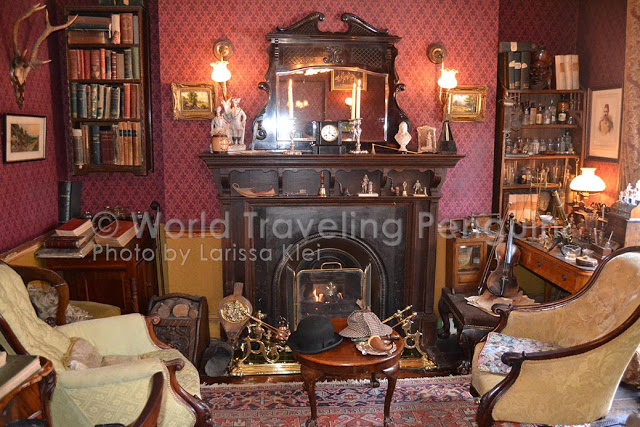 Ping - London - Sherlock Museum