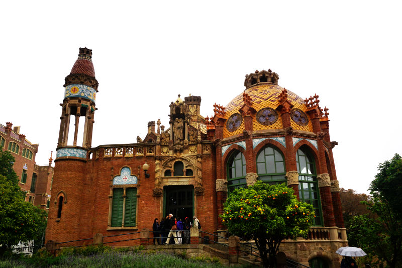 Bettenhaus Hospital de Sant Pau