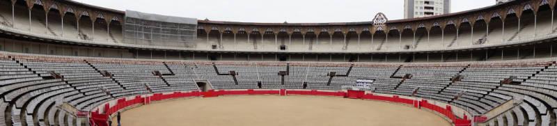Panorama Stierkampf Arena La Monumental