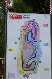 Streckenplan Formel 1 Autorennen