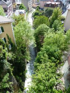 Flusslauf Montreux