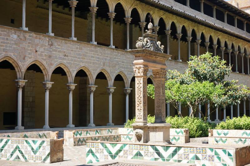 Klostergarten Reial Monestir