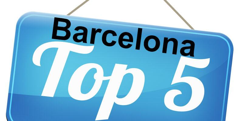 Barcelona Top 5
