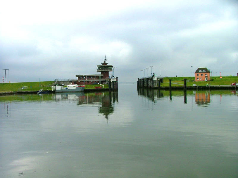 Abfahrt aus Büsum nach Helgoland