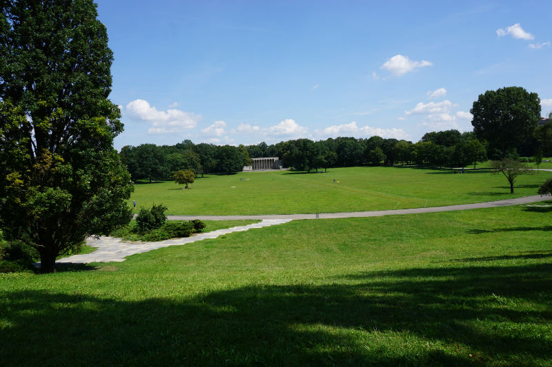 heutige Parkanlage in Nürnberg