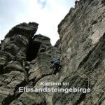 Mein erstes Mal…Klettern im Elbsandsteingebirge