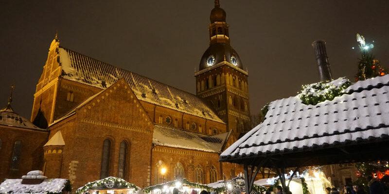 Weihnachtsmarkt Riga