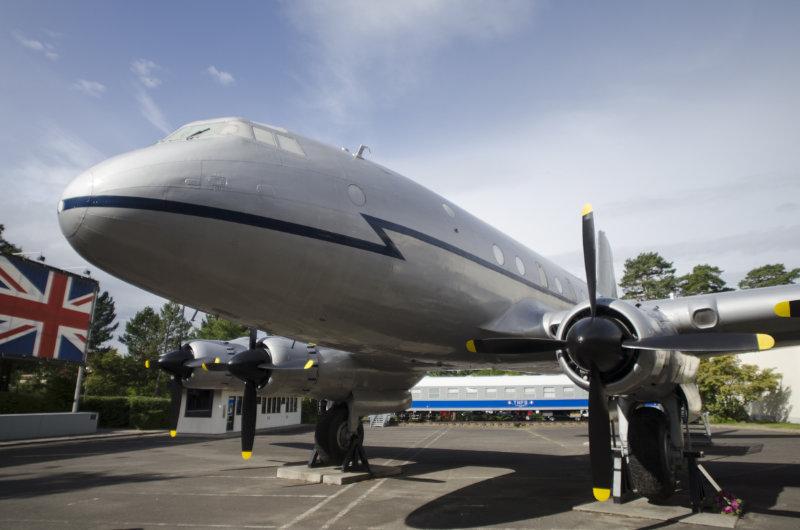 Alliierten Museum in Berlin: Luftbrückenflugzeug