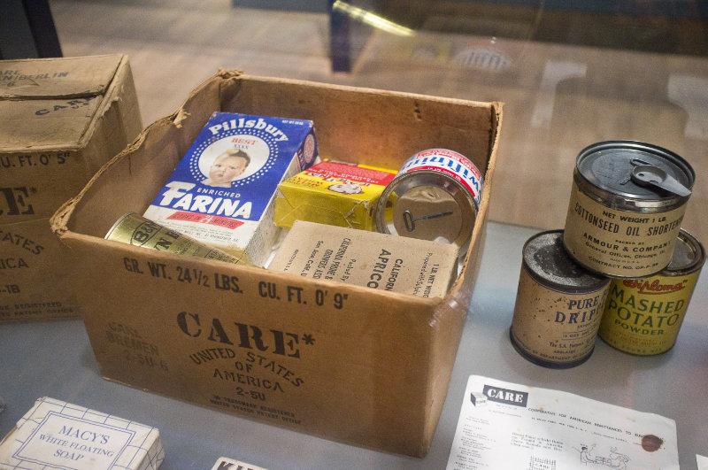 Alliierten Museum in Berlin: Care Paket
