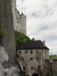 Festung Hohensalzburg - Außenmauern