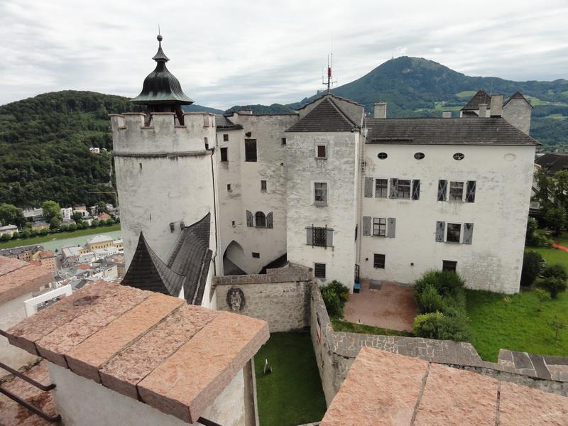 Festung Hohensalzburg - Blick in die Burg