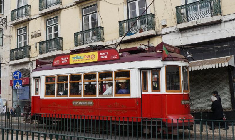 Lissabon - Straßenbahn