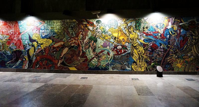 Galerie im Bahnhof Oriente Expo 1998