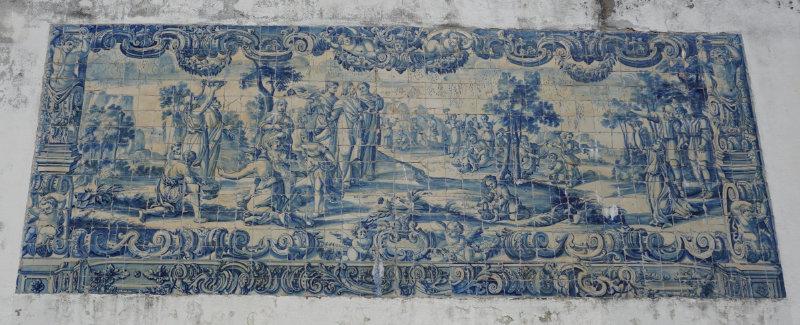 Kachelkunst in Lissabon - altes Bild